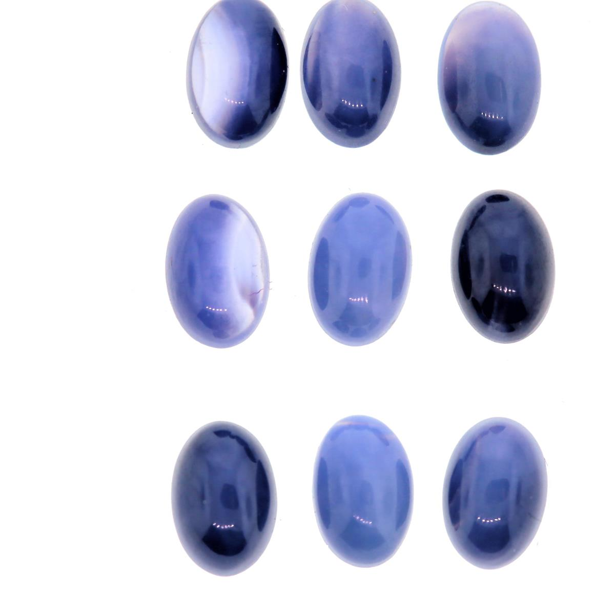 Synthetic Star Sapphire 6x4mm