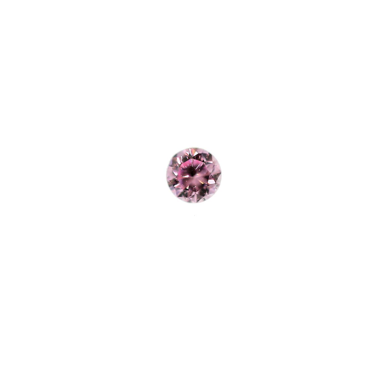 Cubic Zirconia Pink Ice 2.5mm