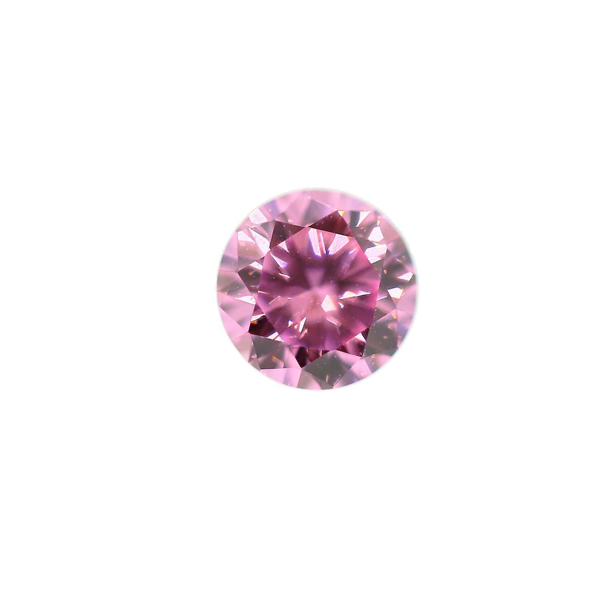 Cubic Zirconia Pink Ice 5.5mm