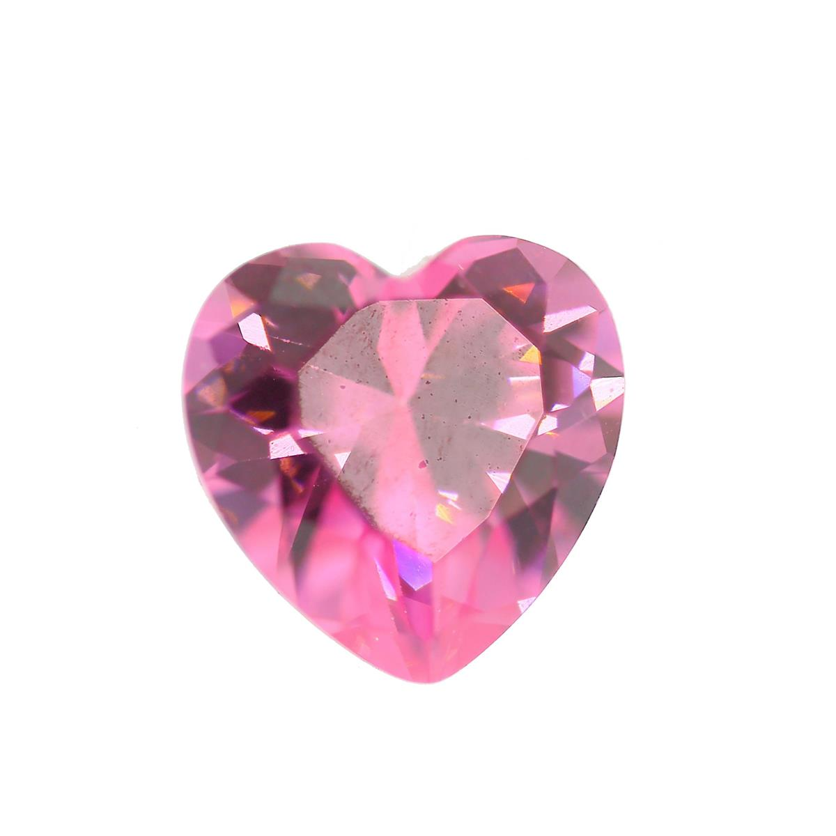 Cubic Zirconia Pink Ice 10mm