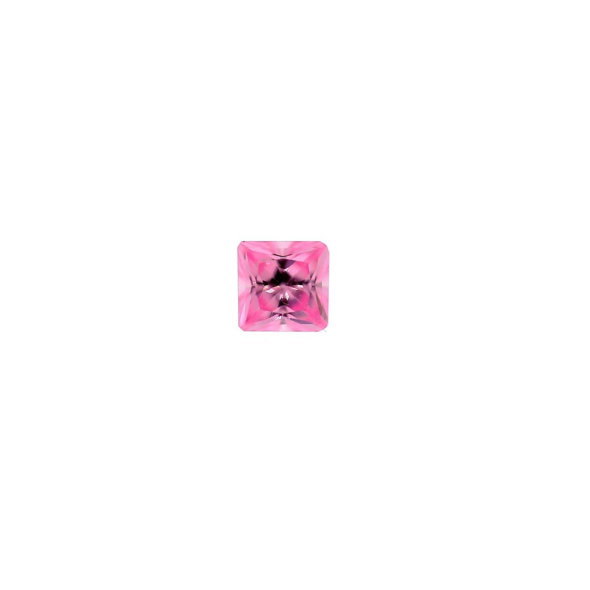 Cubic Zirconia Pink Ice 3mm