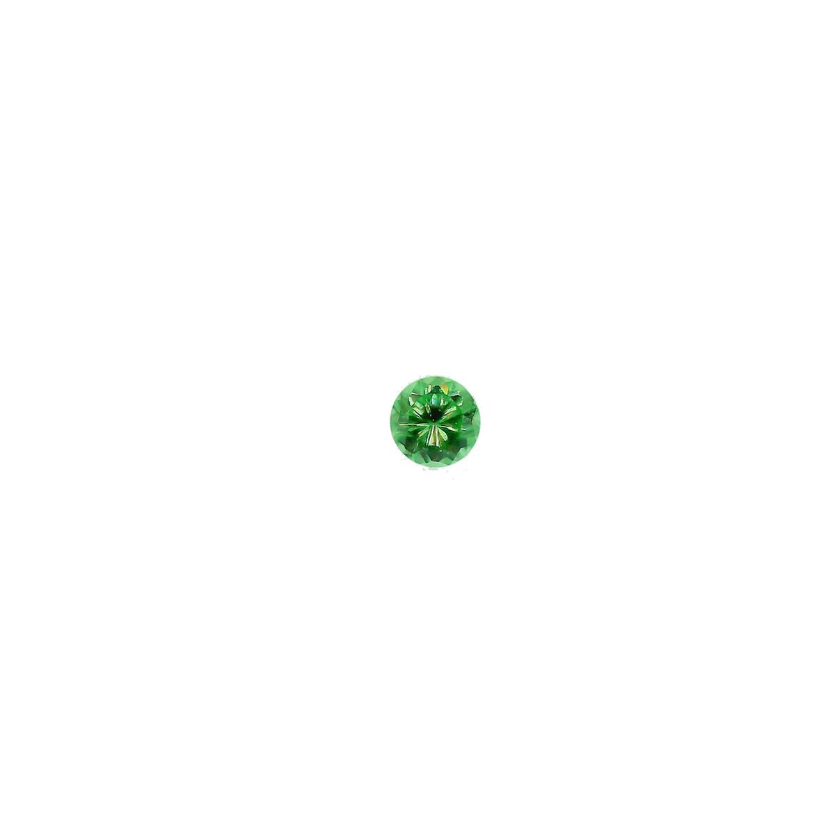 Synthetic Emerald 1.75mm Round