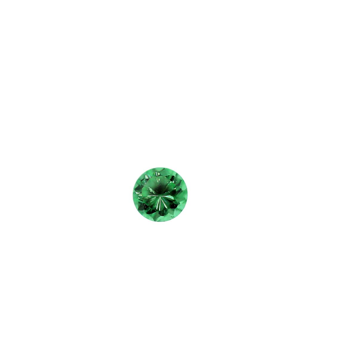 Synthetic Emerald 2.5mm Round