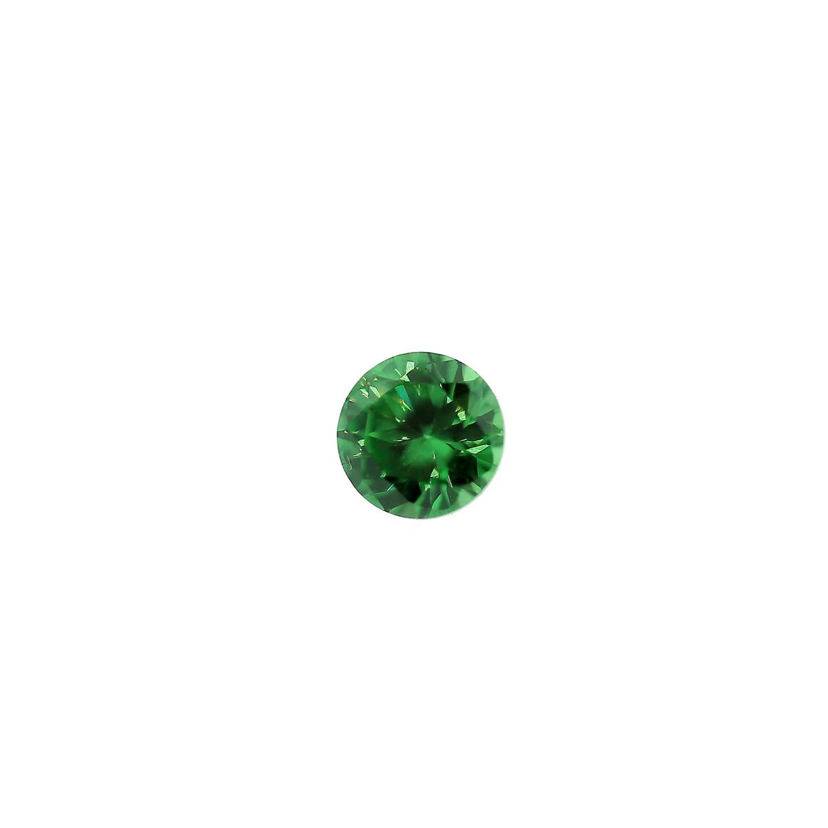 Synthetic Emerald 4mm Round