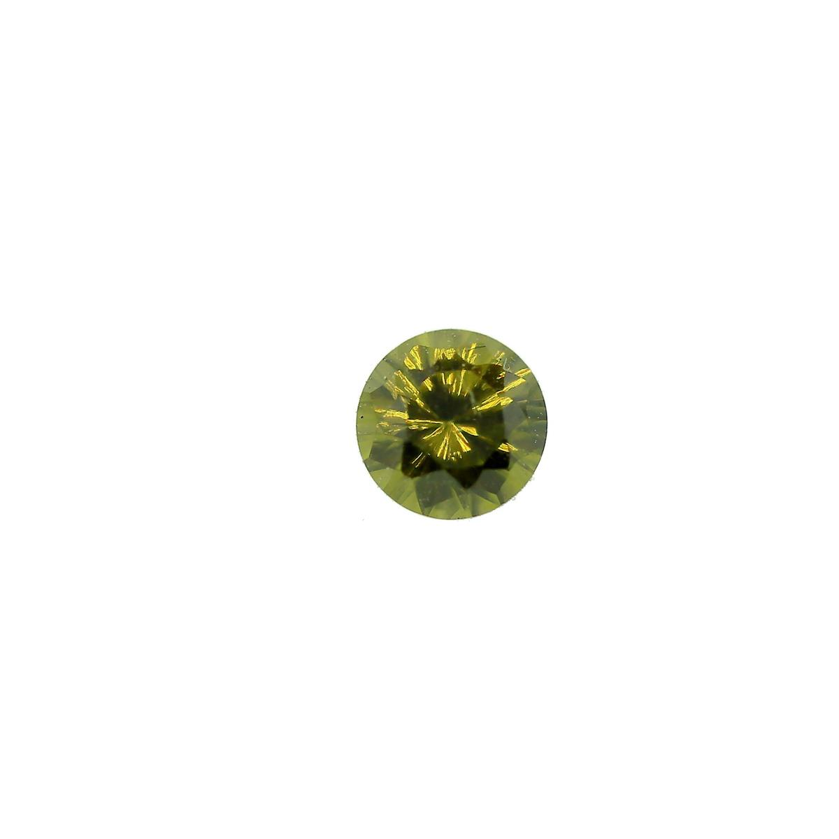 Synthetic Peridot 4mm Round