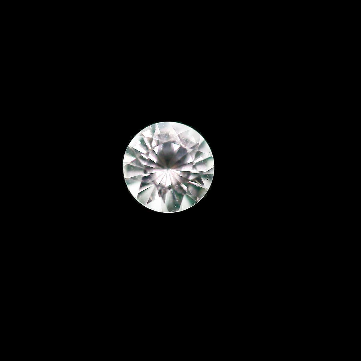 Synthetic White Spinel 4.75mm