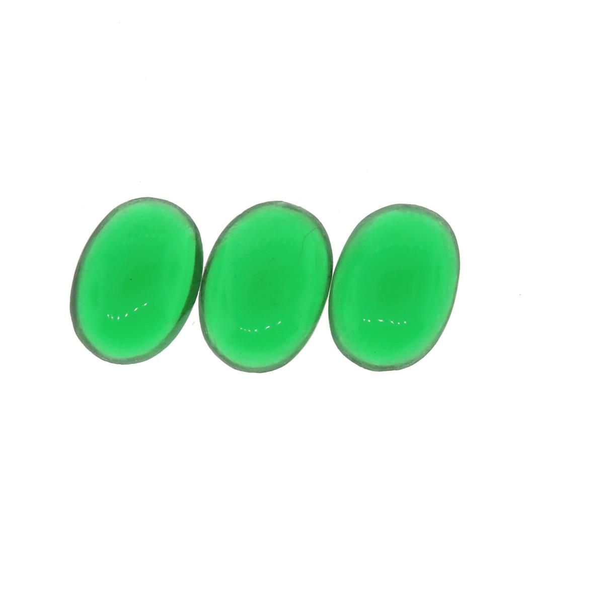 Synthetic Emerald 7x5mm