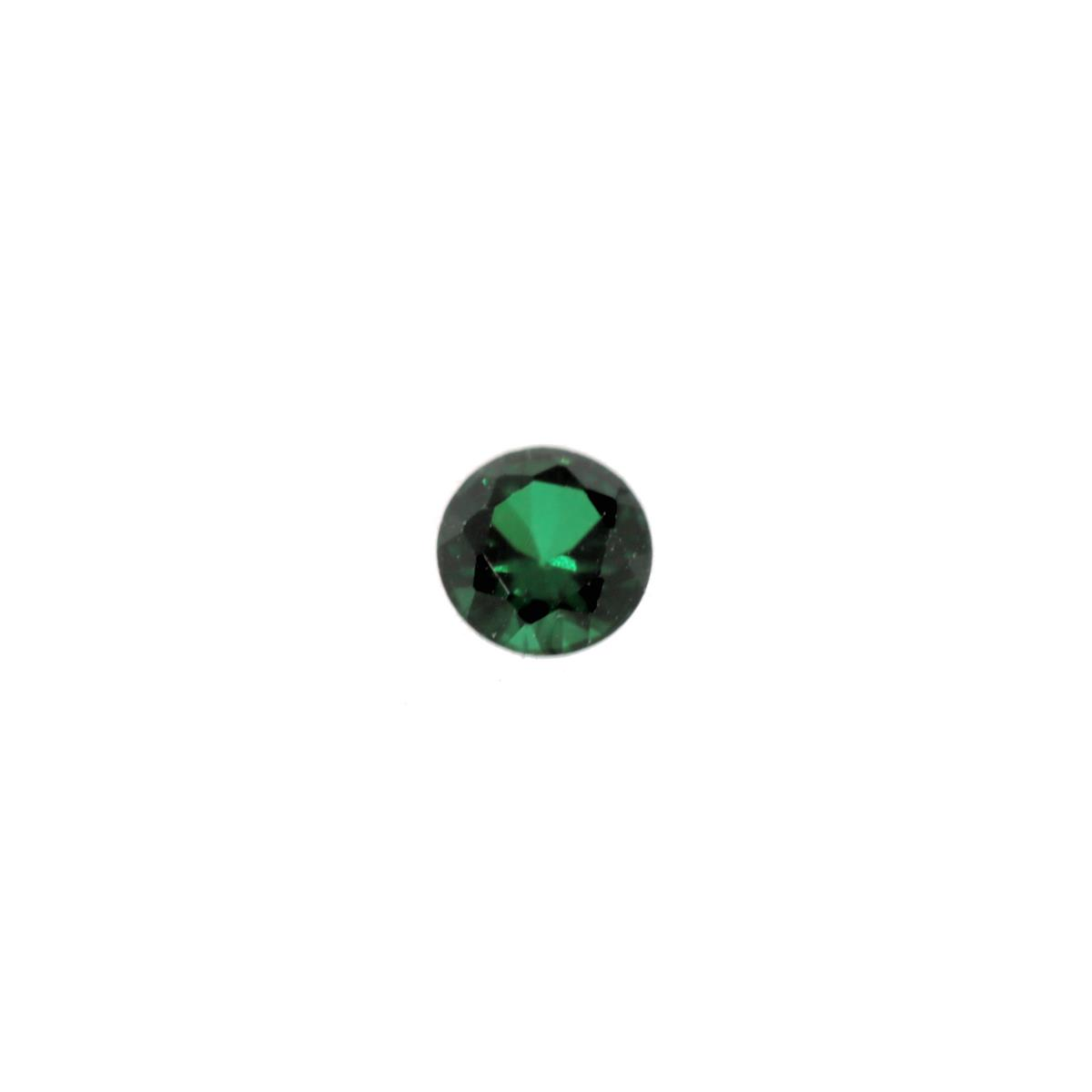 Synthetic Emerald Soude' 3.5mm