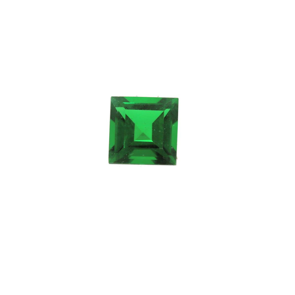 Synthetic Emerald Soude' 6mm