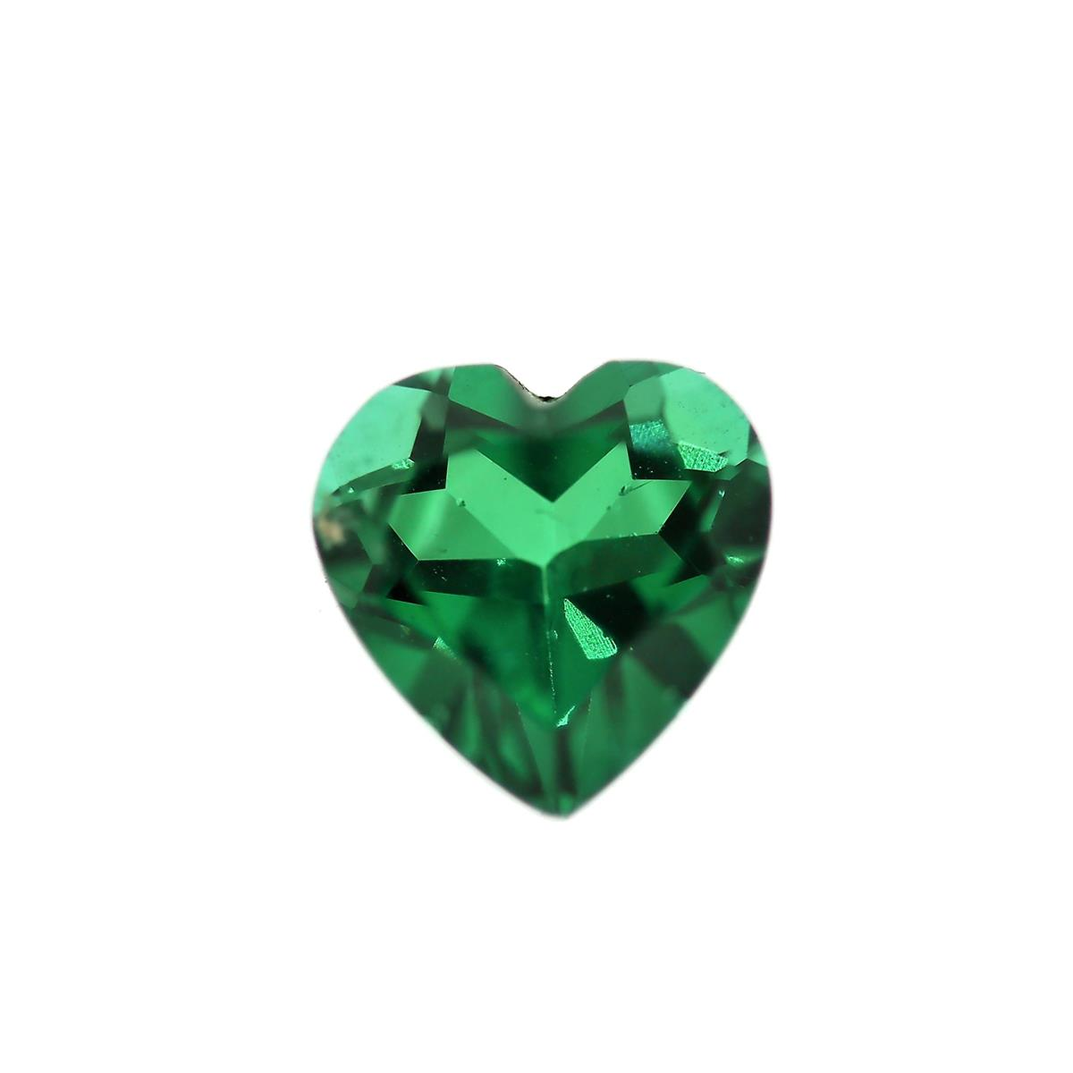 Synthetic Emerald Soude' 8mm