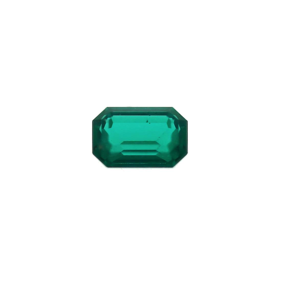 Synthetic Emerald Ferrer 6x4mm
