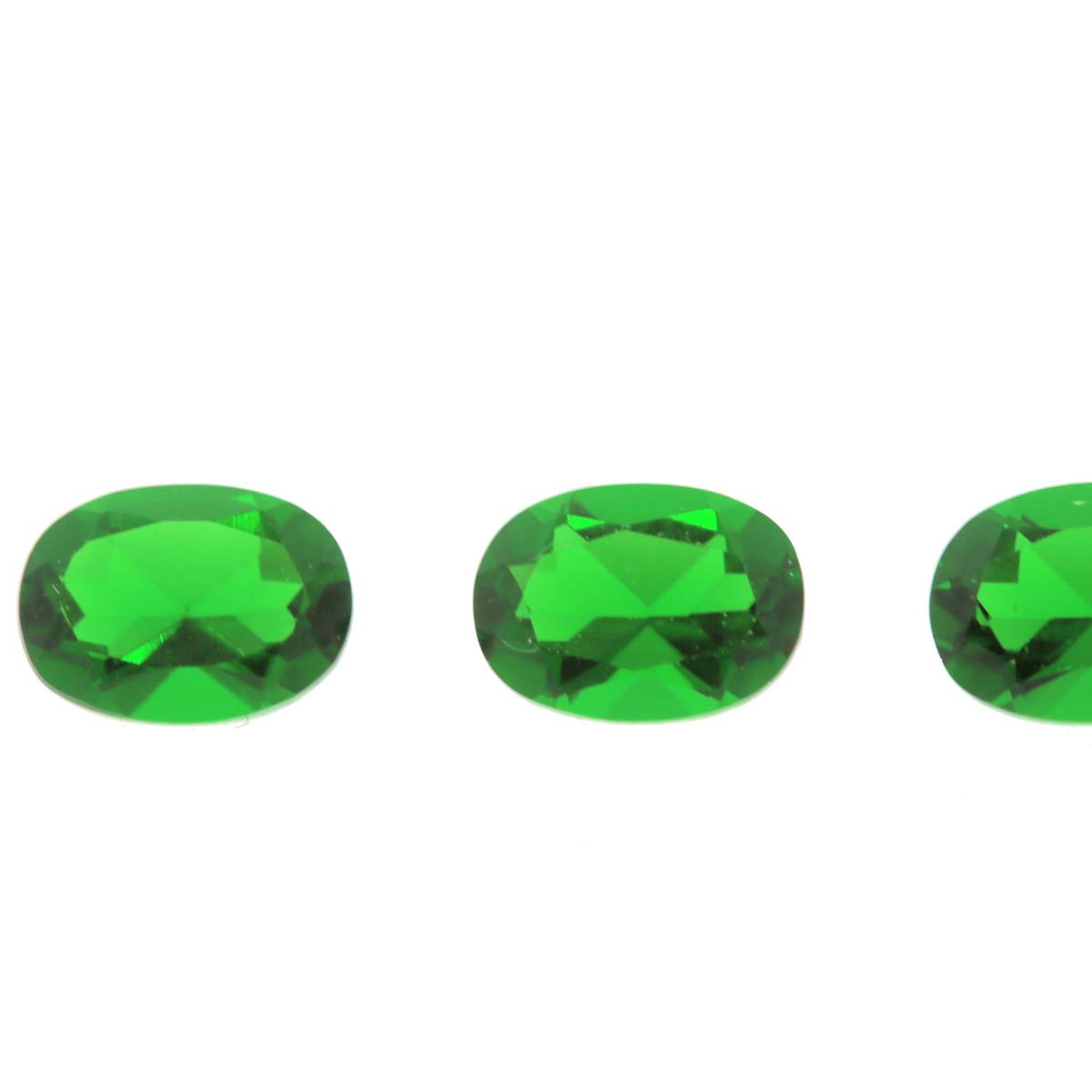 Synthetic Emerald Ferrer 7x5mm