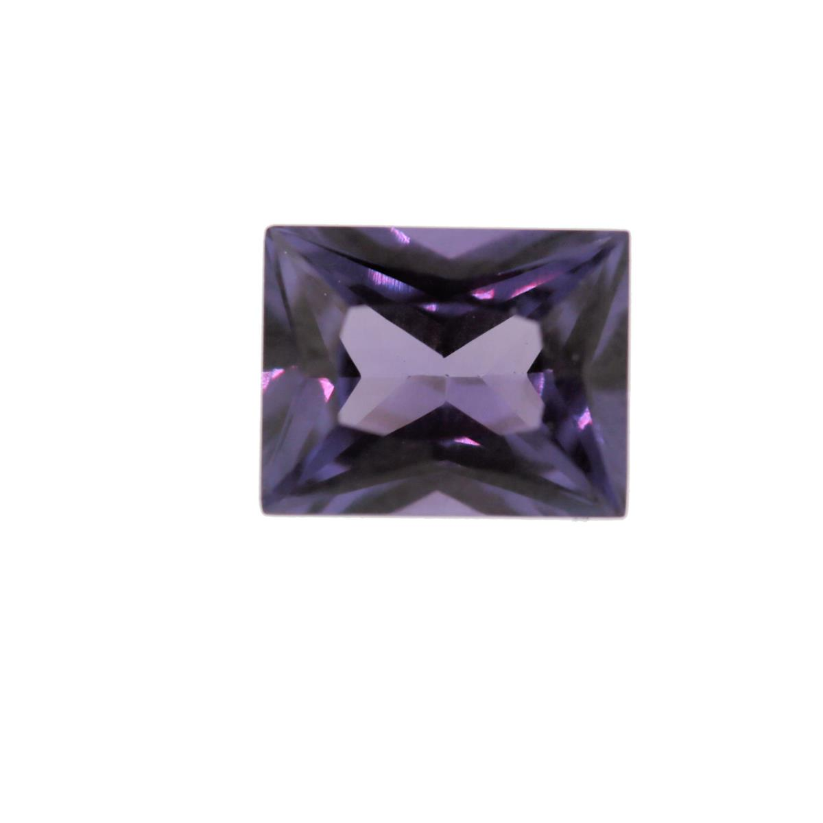 Synthetic Alexandrite 10x8mm