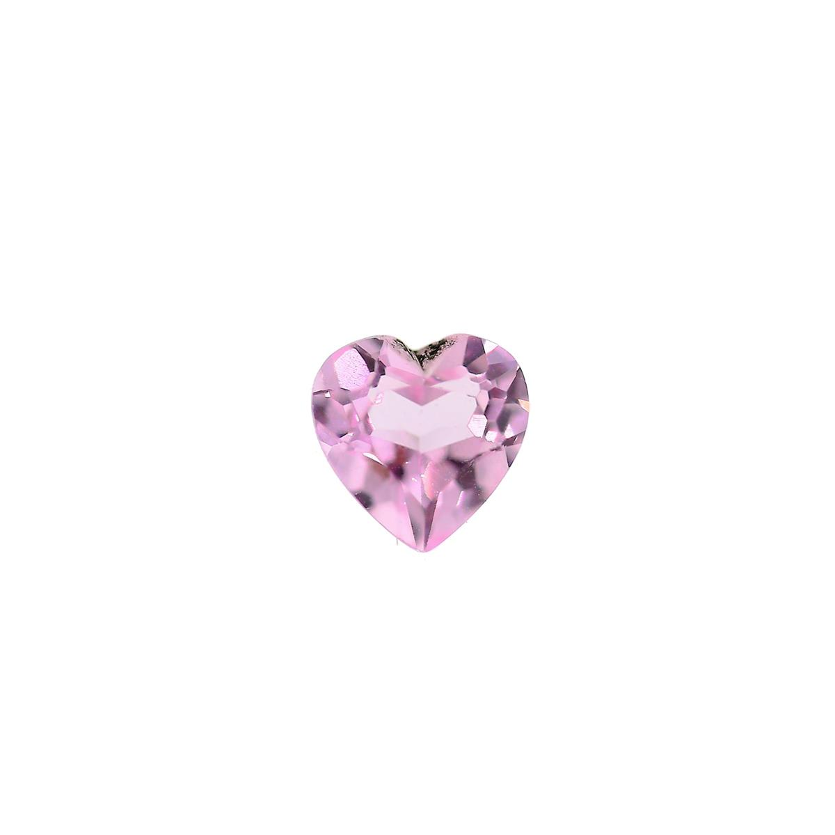 Synthetic Pink Tourmaline 6mm