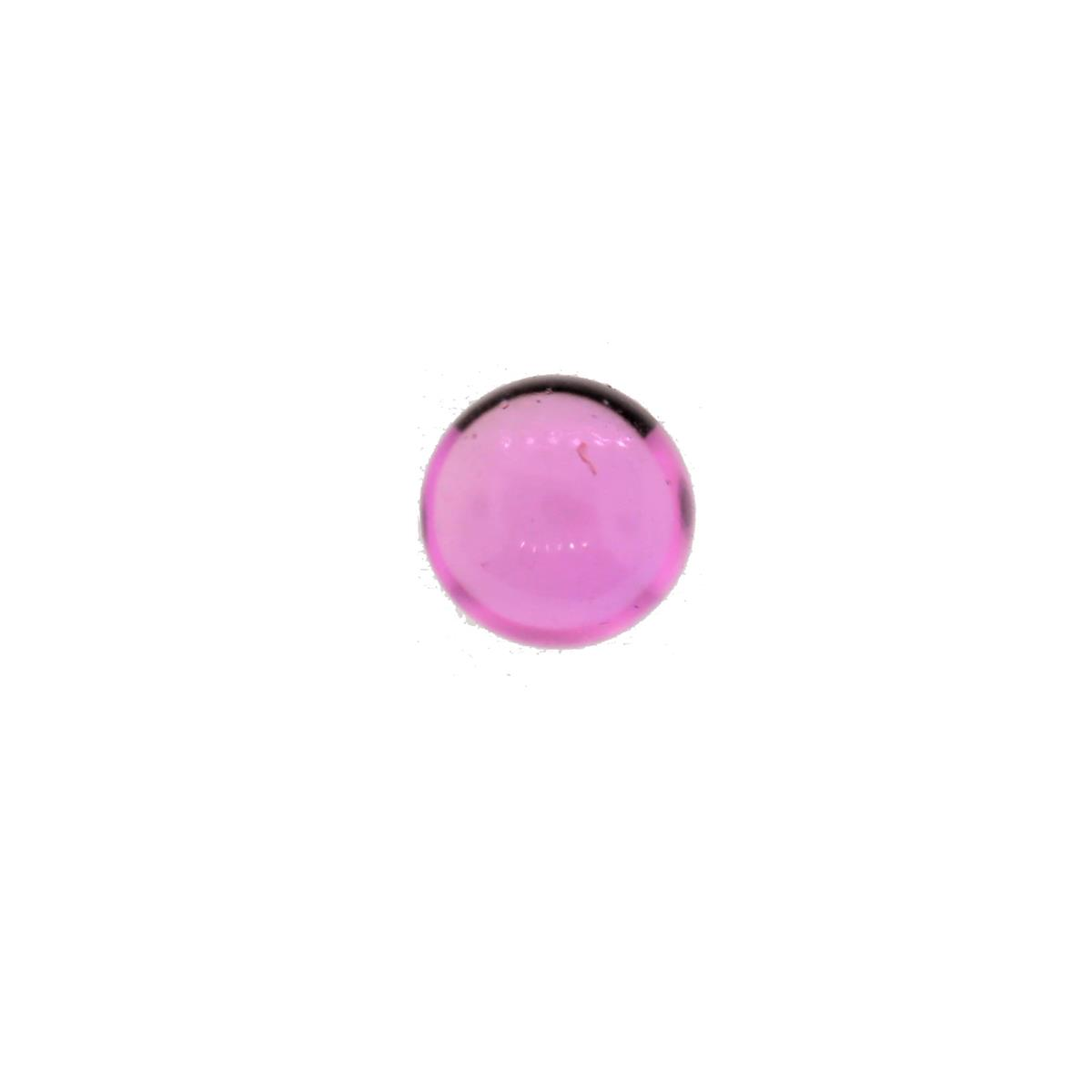 Synthetic Pink Tourmaline 5mm