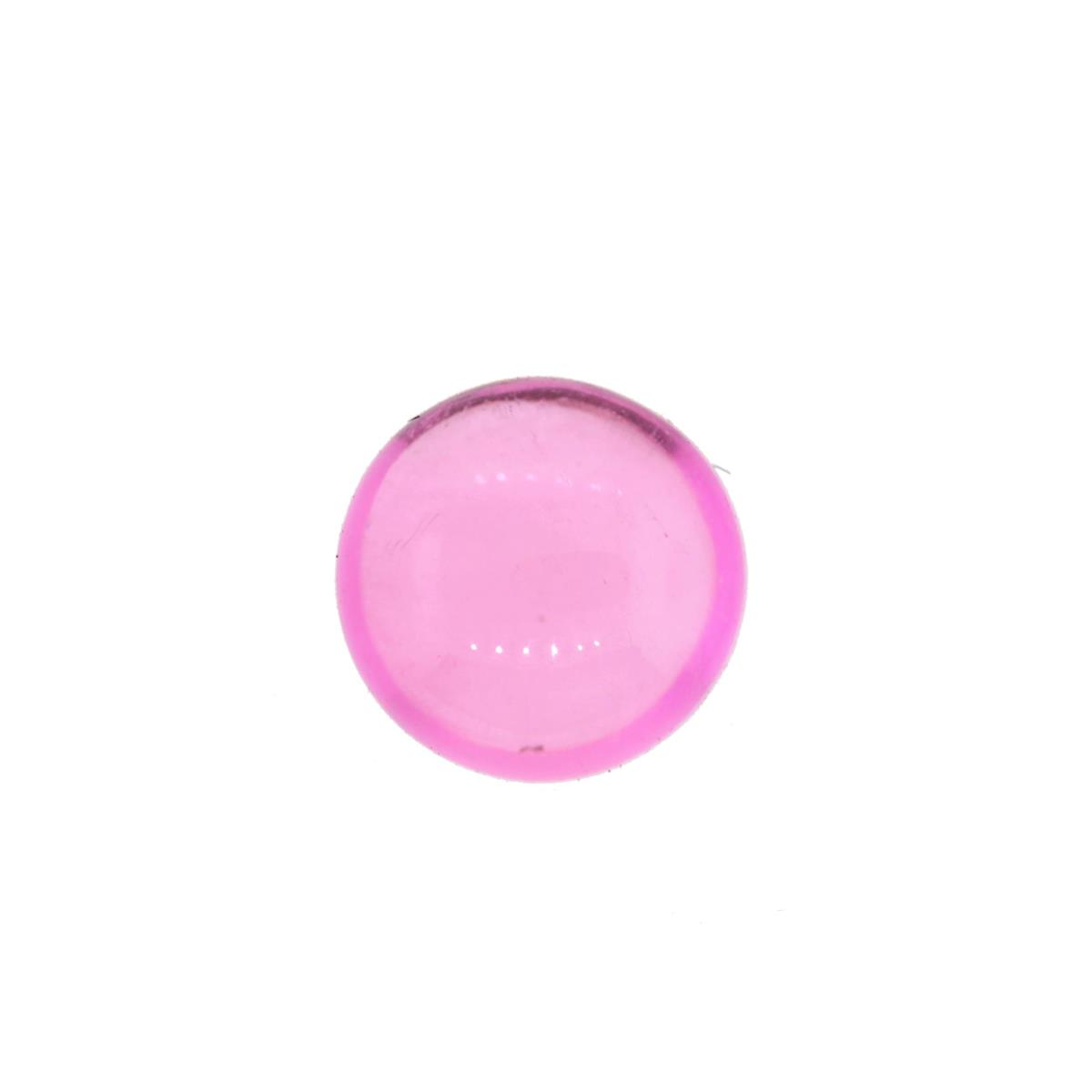 Synthetic Pink Tourmaline 8mm