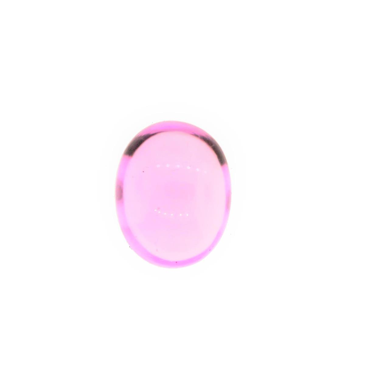 Synthetic Pink Tourmaline 10x8