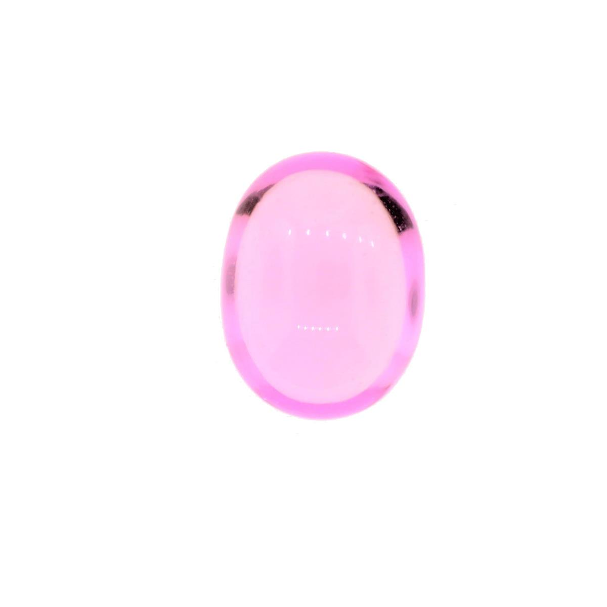 Synthetic Pink Tourmaline 9x7m