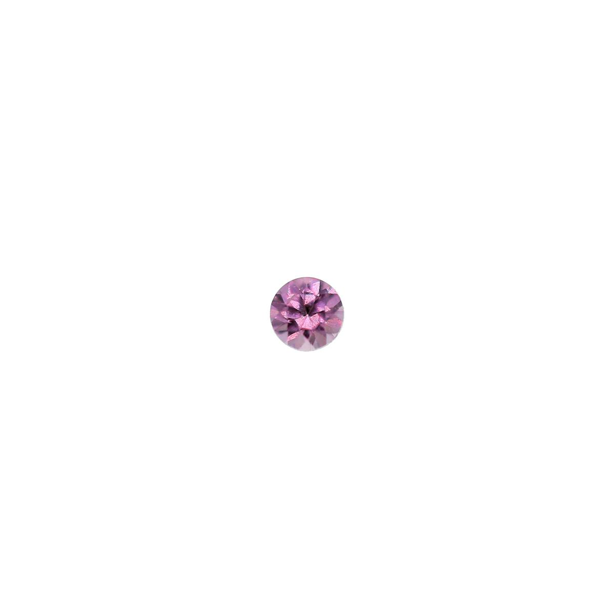 Synthetic Rose 2mm Round