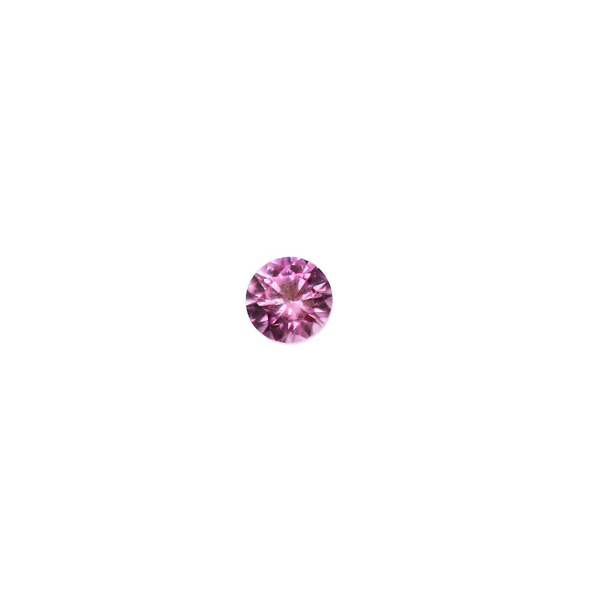 Synthetic Rose 2.5mm Round