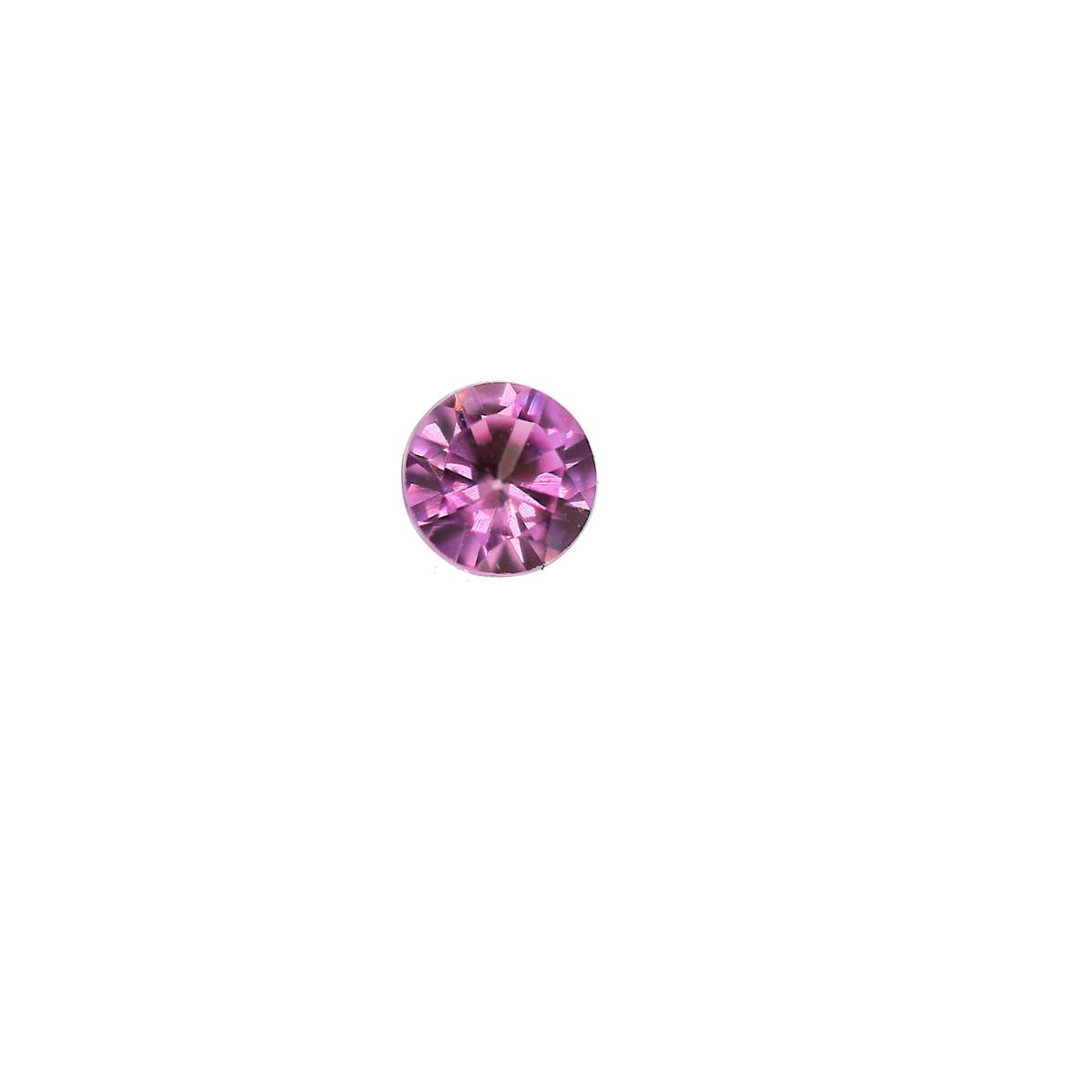 Synthetic Rose 3.5mm Round
