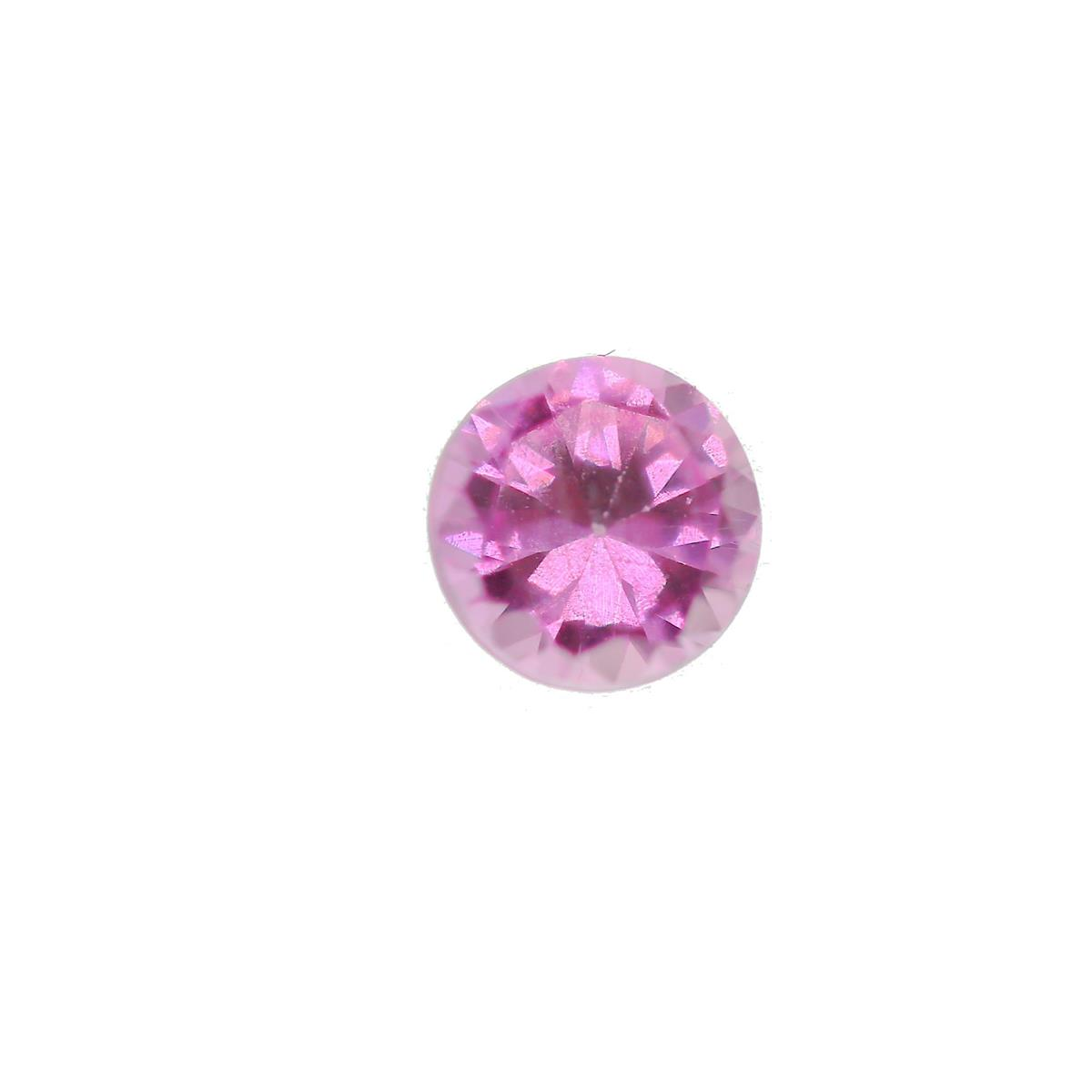 Synthetic Rose 5.75mm Round