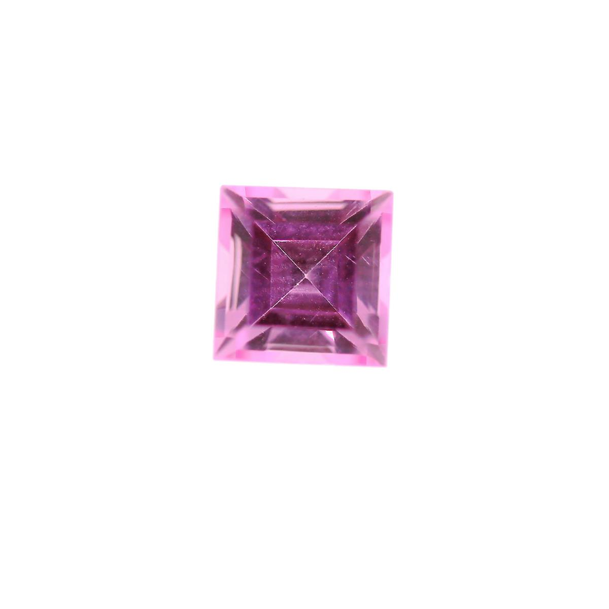 Synthetic Rose 7mm Square