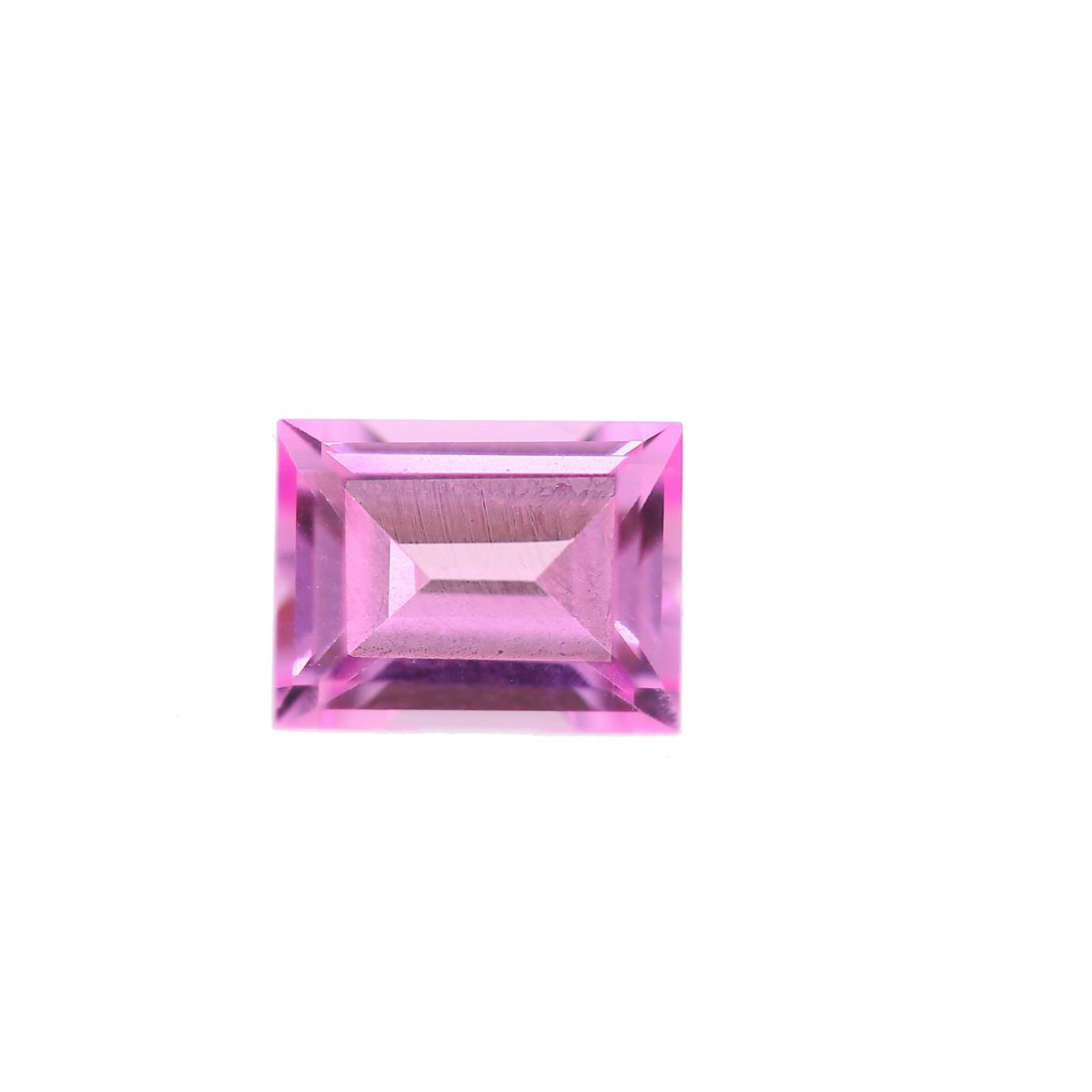 Synthetic Rose 9x7mm Rectangle