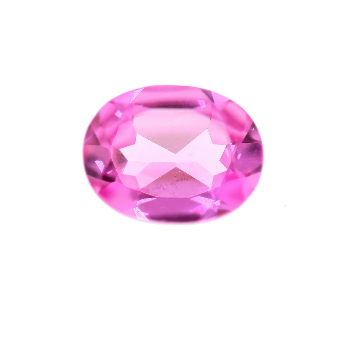 Synthetic Rose 9x7mm Oval