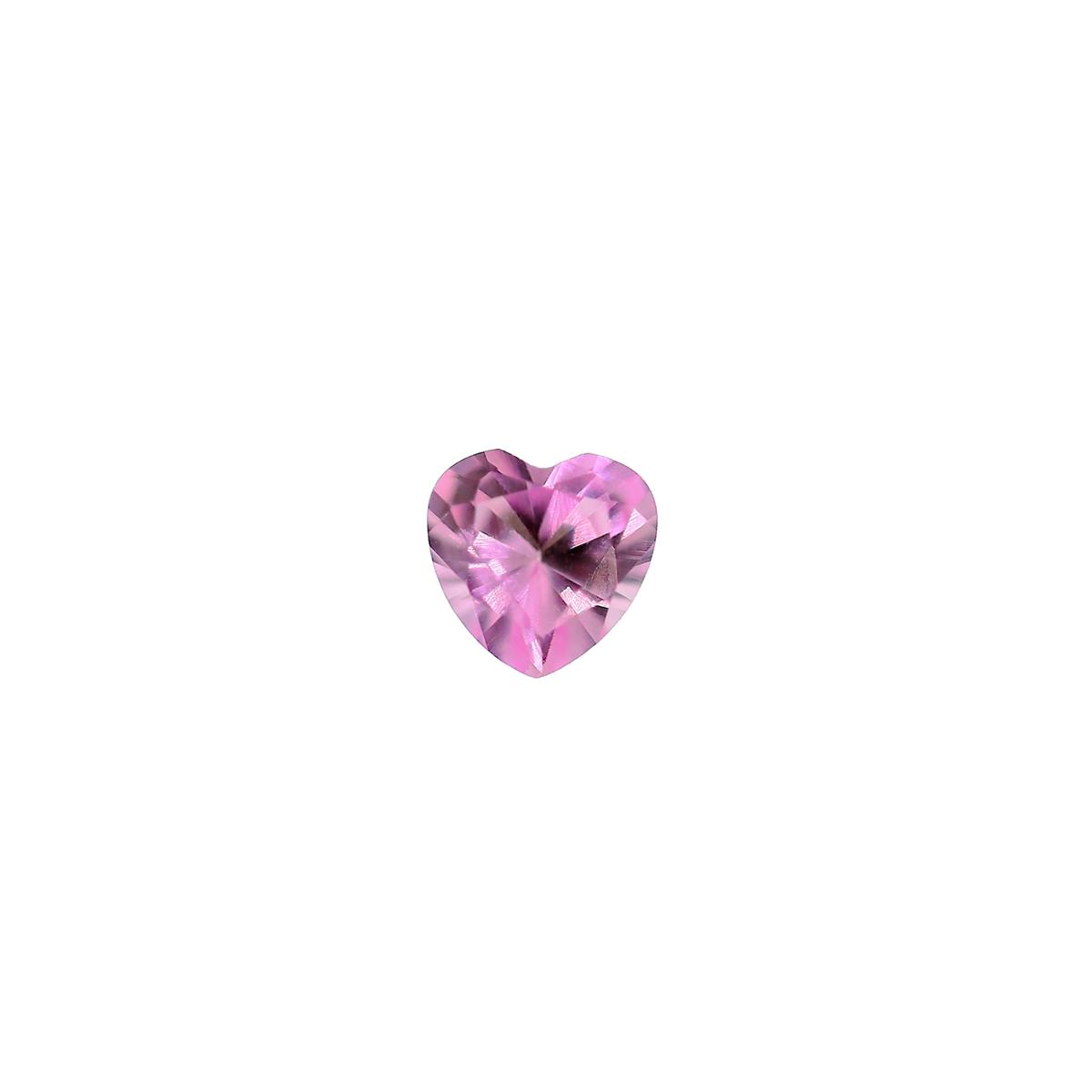 Synthetic Rose 5mm Heart