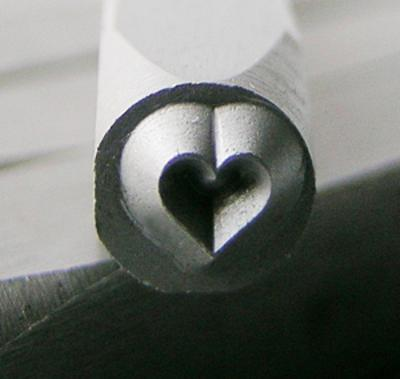 Stamp - Heart 3mm