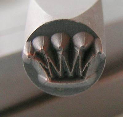 Stamp - Crown 6mm