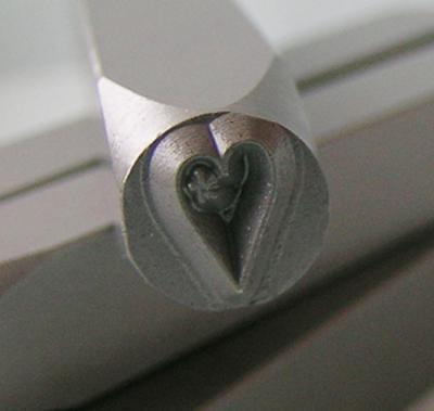 Stamp - Heart With Swirl 5mm