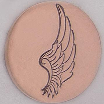 Stamp - Angel Wing Right