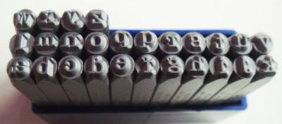 Stamp - American Lowercase 3mm
