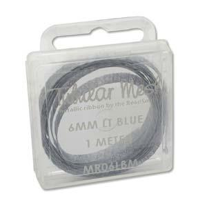 Metal Ribbon 6mm LtBlue 1m
