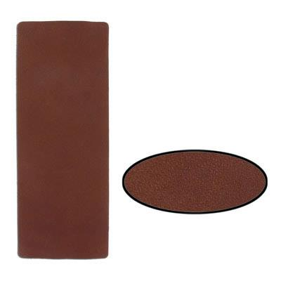 Leather Trim Brown 9x3""