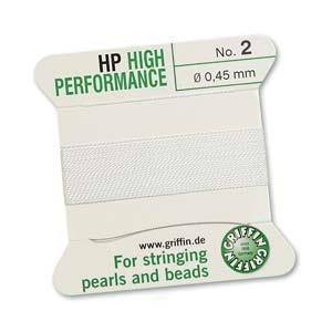 Hi Performance Cord #0 White