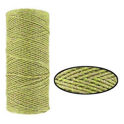 Wax Cotton Cord 1mm Lime MTR
