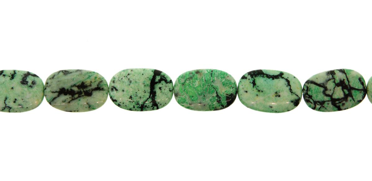Variscite Green Oval 30x20mm