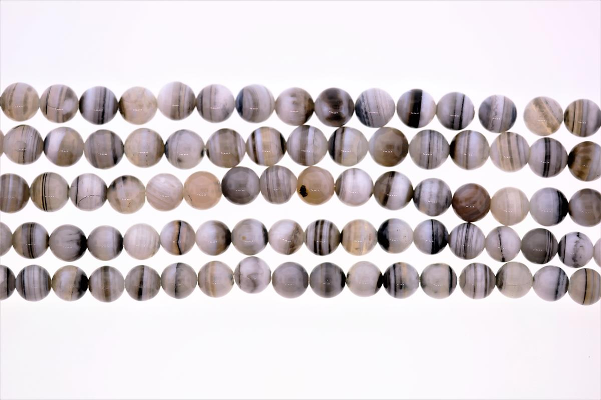 Agate Banded Round 6mm