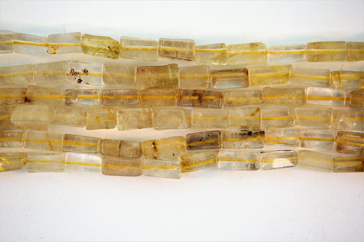 Quartz Rutilated Rectangle