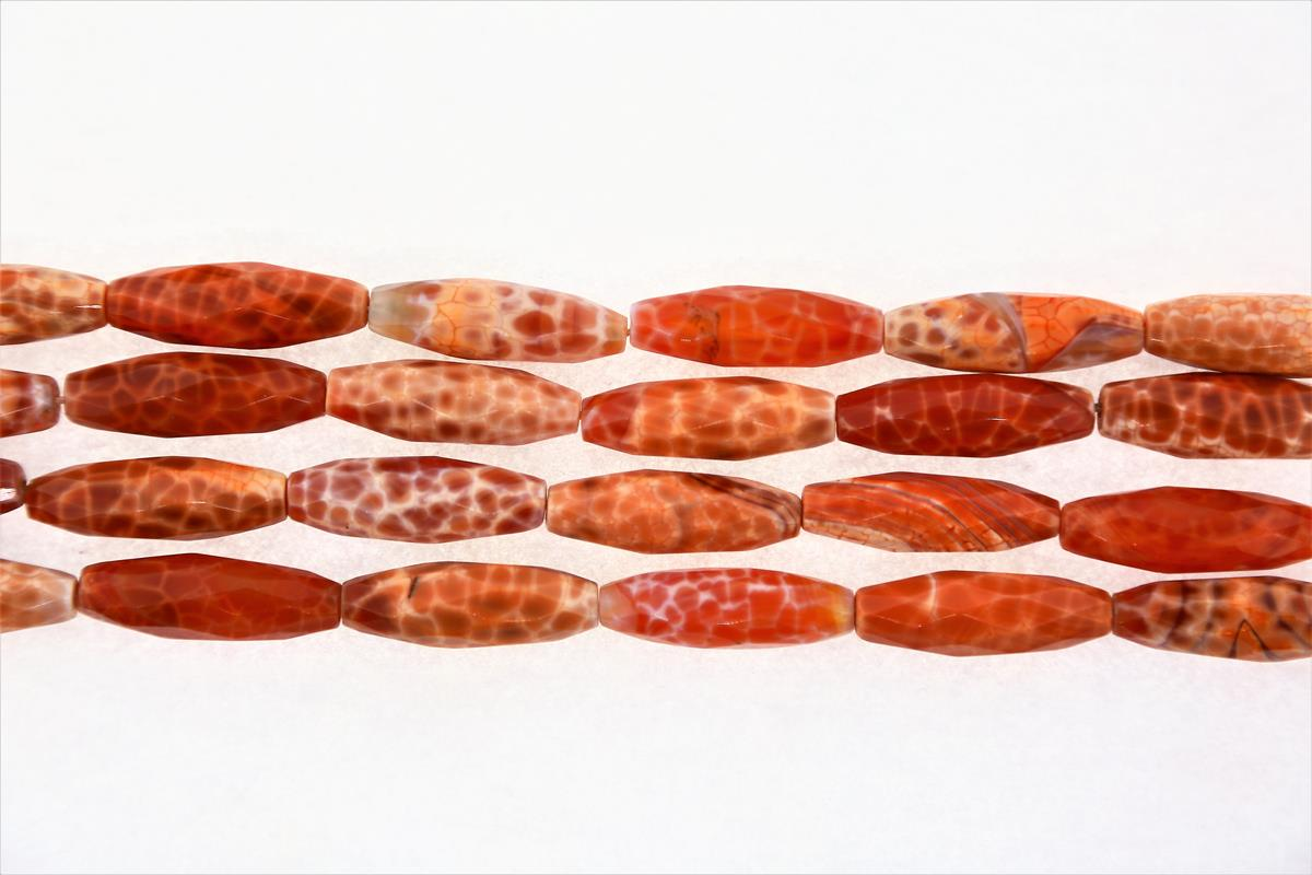 Agate Banded Long Oval 16x30