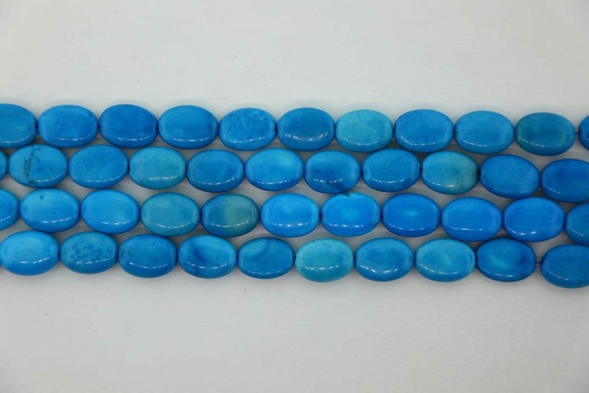 Howlite Turquoise 12x16mm
