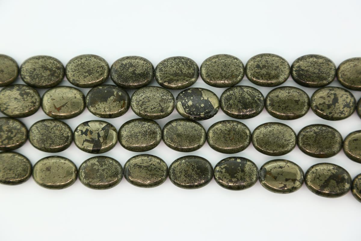 Pyrite Oval 15x20mm