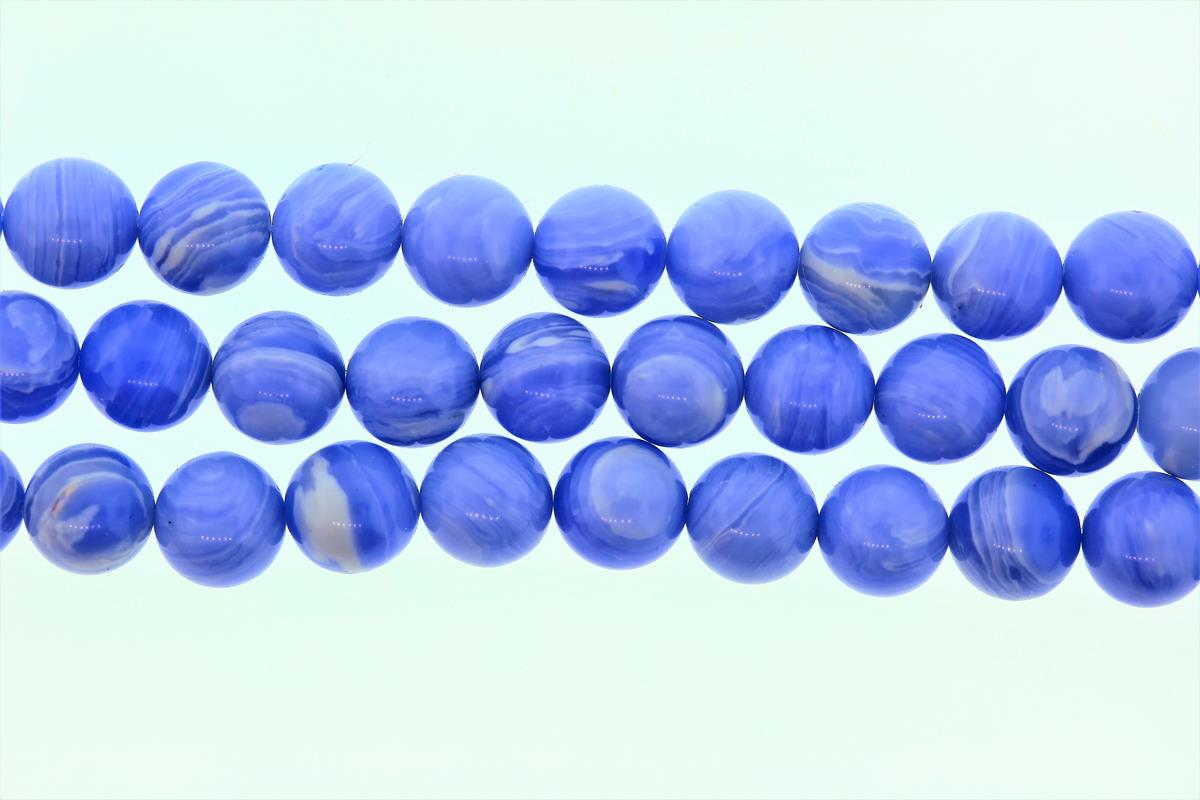 Blue Lace Agate Synthetic