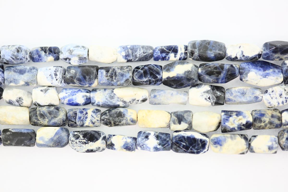 Sodalite Twisted Oval 11x7mm
