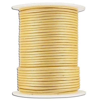 Leather Cord 1.5mm Cream