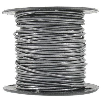 Leather Cord 1.5mm Grey