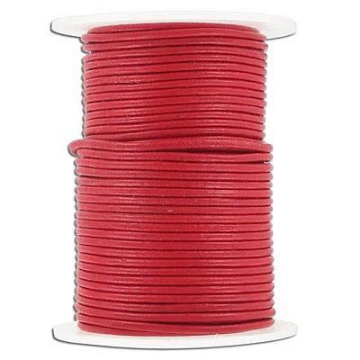 Leather Cord 1.5mm Red